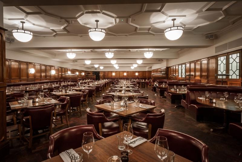 The Hawksmoor Restaurant, City of London