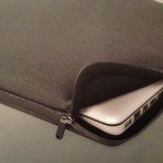 The Incase neoprene pro sleeve for MacBook Pro