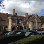 Barnsdale Hall Hotel Review - The car park outside the main entrance