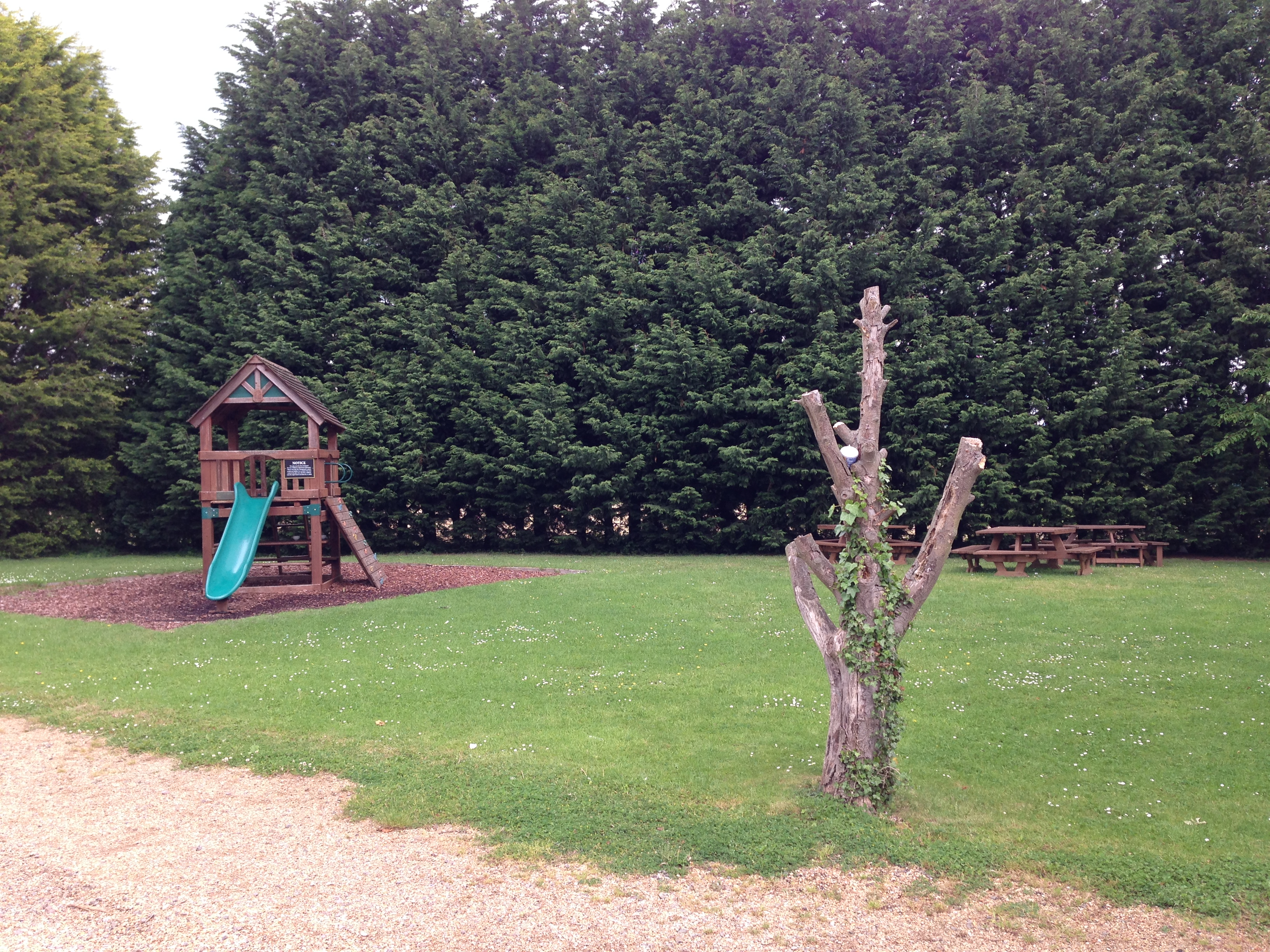 The Plough Coton - Playground and outdoor seating