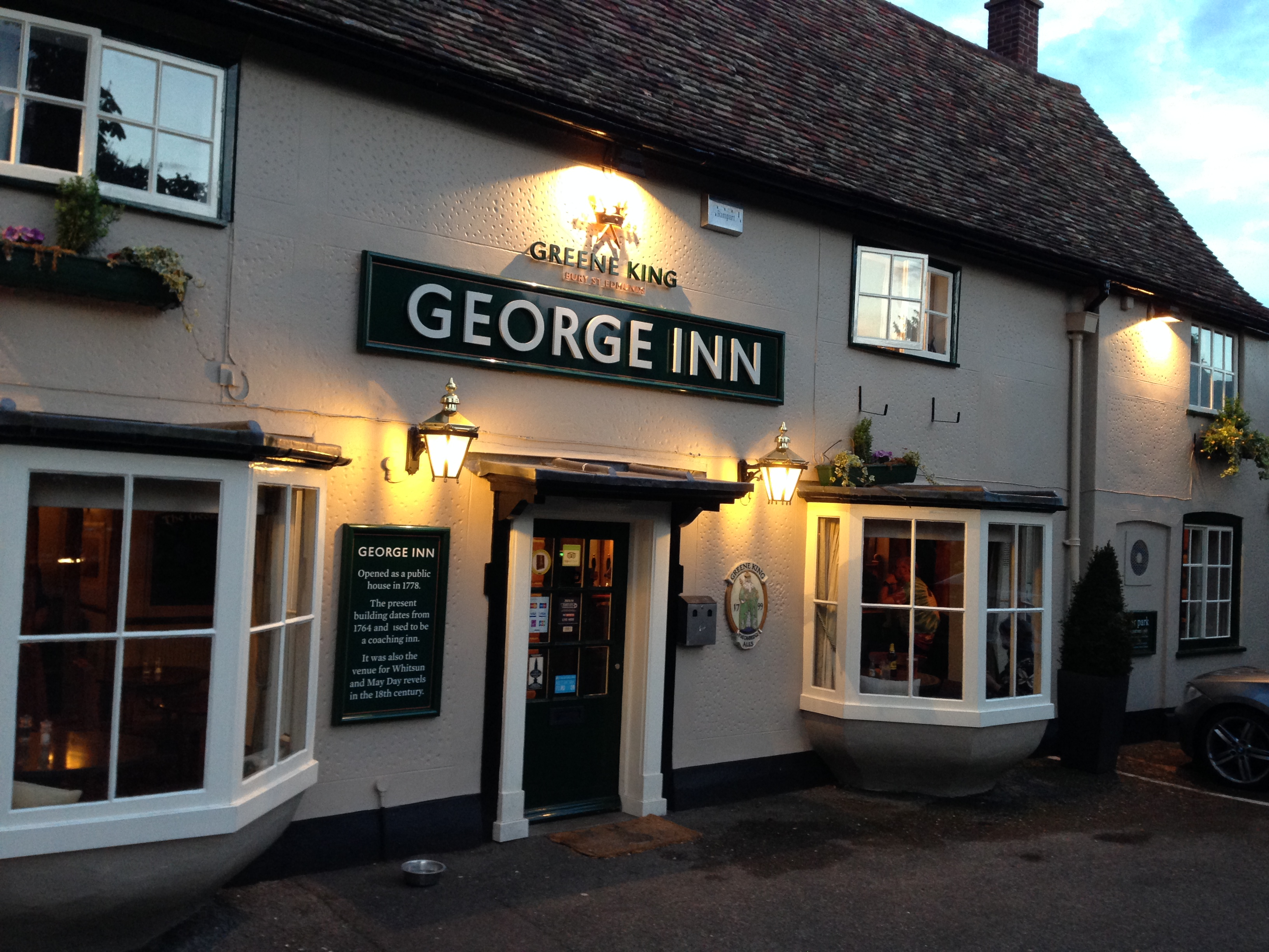 The George Inn Babraham Review