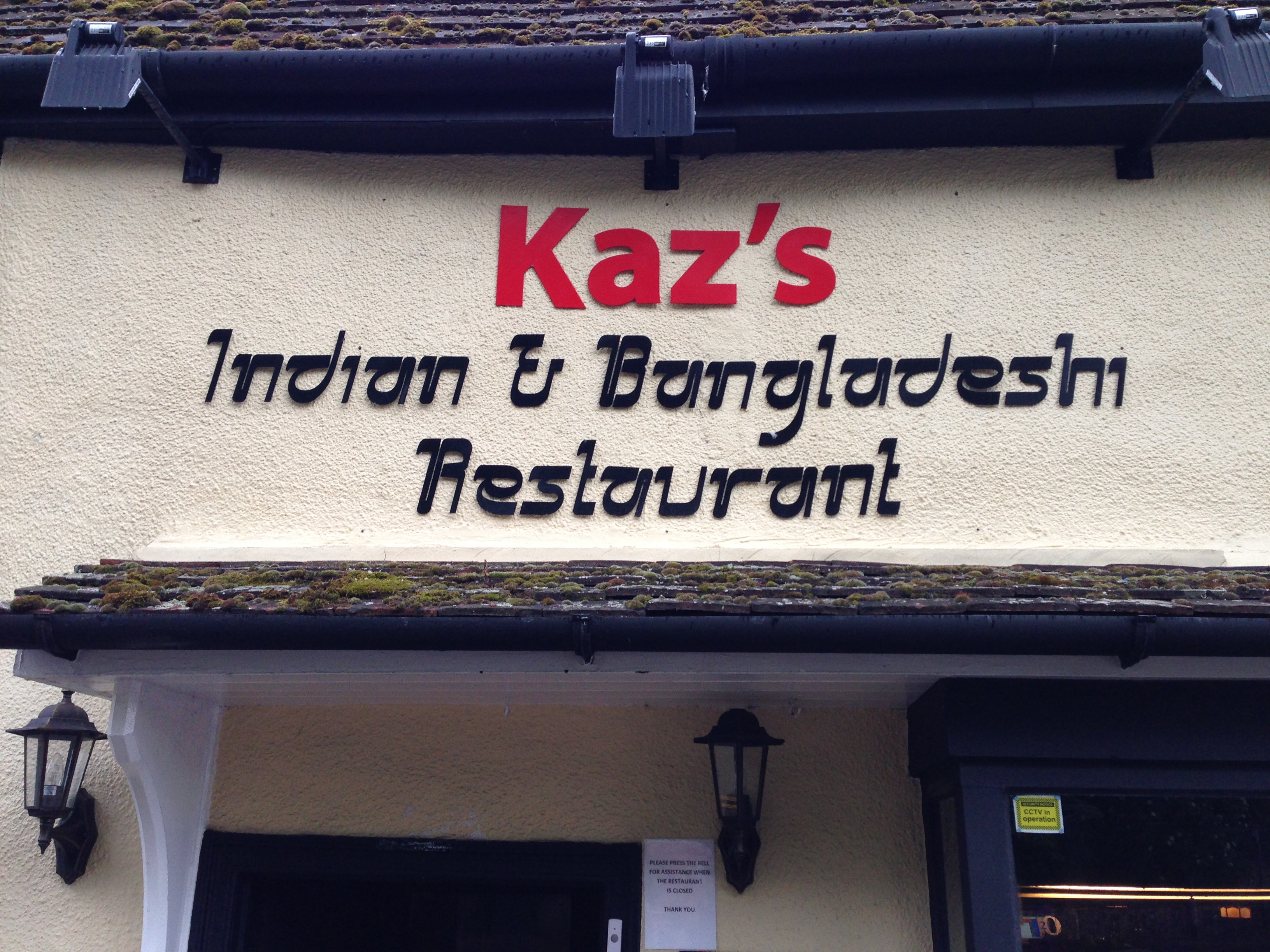 Kaz's Indian & Bangladeshi Restaurant Review