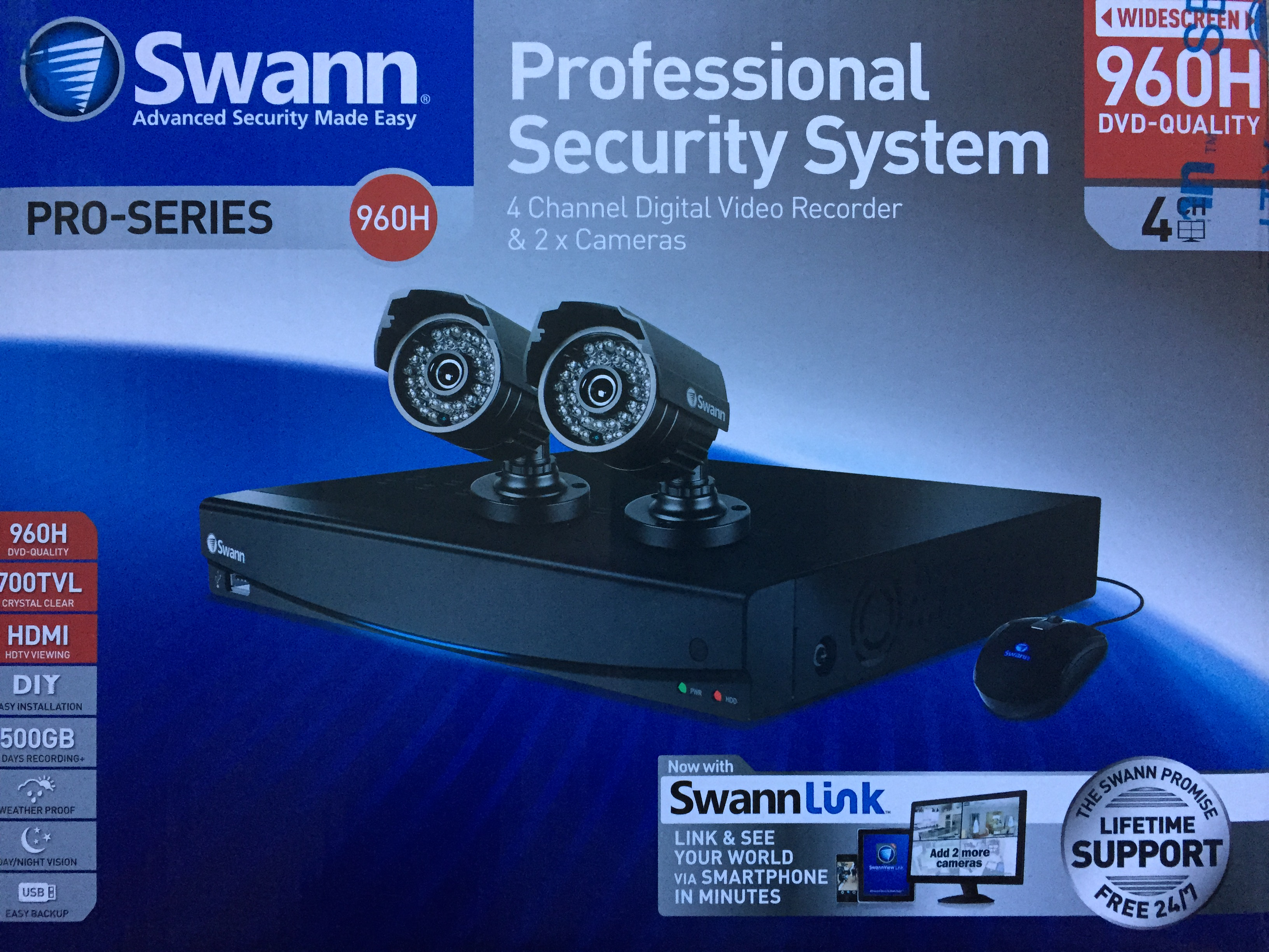 Review It Swann Security Camera Reviews Dvr4 3450